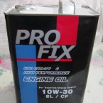 МОТОРНОЕ МАСЛО PROFIX SYNTHETIC ENGINE OIL 10W-30 SN/CF, 4 Л / SN10W30C
