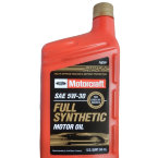 Моторное масло Motorcraft Fully Synth Motor Oil 5W30 SN, 946л / XO5W30QFS