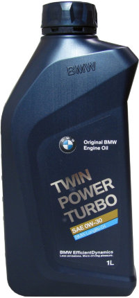 Моторное масло BMW Twin Power Turbo 0W30 LL-04, 1л / 83212365929