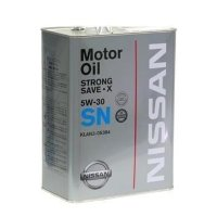 Моторное масло Nissan Strong Save X 5W30 SN, 4л / KLAN5-05304
