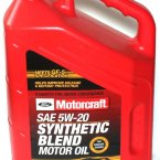 Моторное масло Ford Motorcraft Motor Oil 5W-20 SN, 4.73 л / XO-5W20-5QSP / WSSM2C945A