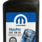 Моторное масло Mopar MaxPro Engine Oil 5W-20 SN, 946 мл / 68218890AA