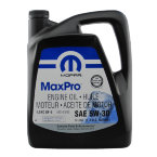 Моторное масло Mopar MaxPro Engine Oil 5W-30 SN, 4.9 л / 68218921AC