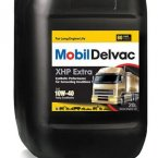 Моторное масло Mobil Delvac XHP Extra 10W-40 CF, 20л / 152712